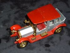 Matchbox Y-7  models of yesteryear  1912 Rolls Royce back seat missing