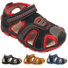Jungen Kinder Freizeit Slipper Leicht befestigen Infant Kinder Sport Sommer Sandalen Größe