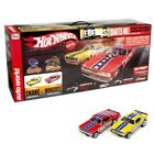 AW Hot Wheels Legends of 1/4 Mile Snake vs Mongoose HO Slot Car Drag Racing Set