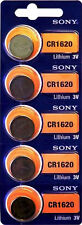 40x Sony CR1620 8x 5er Blister 3V Batterie Lithium Knopfzelle CR 1620