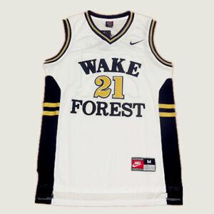 Wake Forest Demon Deacons #21 Tim Duncan Basketball Jersey Men's - Sizes : S-4XL