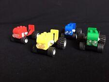 Lego City 4x Traktoren für Bauernhof, Farm Tractors wie 4899 City Stadt Town