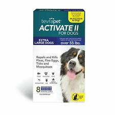 New listing TevraPet Activate Ii Flea and Tick Prevention for Dogs   All Dog Sizes   8 Mo.