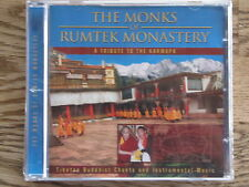 CD - THE MONKS OF RUMTEK MONASTRY - A TRIBUTE TO THE KARMAPA