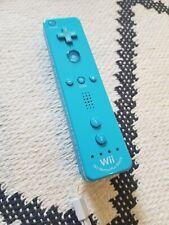 Broken Official Nintendo Wii Original Blue Motion Plus Remote Controller AS IS