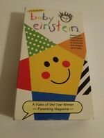 Baby Einstein VHS Tape 2000 Multilingual Lullabies