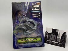 Rhino Alien Aliens Action Figure Power Ramming Action!
