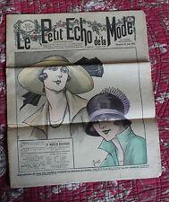 Septembre 1923 Le petit écho de la mode N°34 Hebdomadaire féminin Illustré