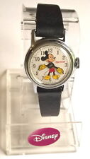 "VINTAGE INGERSOLL ""MICKEY MOUSE"" WIND UP MECHANICAL WRIST WATCH"