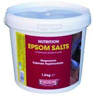 EQUIMINS EPSOM SALTS ESSENTIAL BODY ELECTROLYTE FOR HORSES 1.5KG. NEW STOCK
