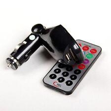 For SD USB CD MMC Remote FM Transmitter Modulator MP3 Player Music Car Kit