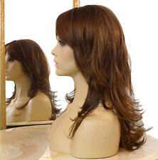 Forever Young Fashion Note Wig (8/12/27BHL Highlighted) Long Straight Bangs