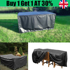 Large Black Waterproof Outdoor Yards Patio Table Chair Furniture Cover Rain Home