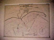 WESTBROOK and DUCK ISLAND ROADS  Geo. Eldridge's harbor chart, , No.22