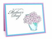 Stampin Up Card Mother's Day Card Stampin Up Mother's Day Mom Mothers Day