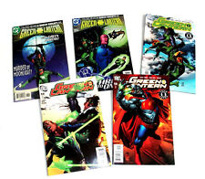 DC Comics 5 x GREEN LANTERN  issues in good condition, arrow, superman, Justice