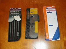 Lot of 3 Foster Grant, Optx & M Eyeglass Cases Pouches Only - No Glasses - NEW