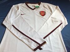 BNWT Arsenal Saison 2007-2009 Away 3rd choix à Manches Longues player issue shirt XL