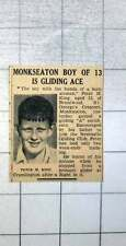 1939 Monkseaton Boy Peter King From St. George's Crescent Is A Gliding Ace