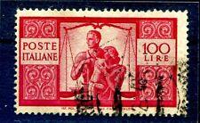 100 LIRE DEMOCRATICA - FILIGRANA LETTERE
