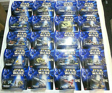 20 Star Wars Episode 1 Galoob Micro Machines 1999 Mint Condition on Sealed Cards