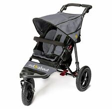 Out n About Nipper 360 V4 (Steel Grey) All Terrain Single Pushchair