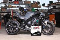 Kühlflüssigkeitsausgleichsbehälter schwarz, Motorrad, Streetfighter,