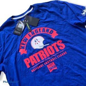 New England Patriots Nike NFL Official Retro Vintage Shirt Mens XXL 2XL