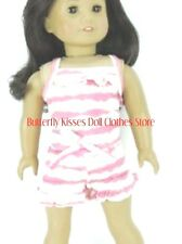 Pink Ruffle Shorts Romper Jumper 18 in Doll Clothes Fits American Girl