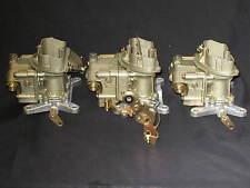 1967 427 4 Spd Corvette Tri Power Holley 3660 3659 Carburetors dated Jan/Feb