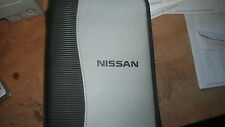 2002 2003 NISSAN MAXIMA SENTRA QX4 FRONTIER OWNERS MANUAL ZIPPERED CASE - VERTIC