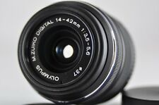 [Exc⁺⁺] OLYMPUS M.Zuiko Digital 14-42mm F3.5-5.6 II R Lens Black Micro 4/3