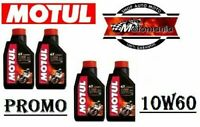 104100 - 4 LT OLIO MOTORE MOTUL 100% SINTETICO 7100 10W60 MOTO STRADALI MOTARD