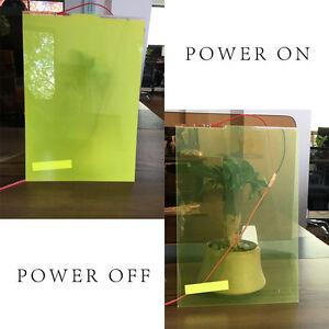 PDLC Piece 21x29.7cm Smart Film Glass Switchable Glass Electrochromic 6 Colors