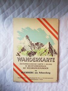 Wanderkarte Puchberg am Schneeberg