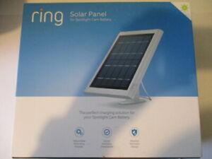 New Ring Solar Panel for Spotlight for Stick Up Cam in White