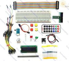 GPIO Starter Kit for Raspberry Pi ,1602 LCD, Pins exte,IR remote,Switch,DS18B20