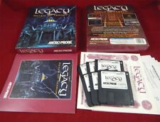 PC DOS: The Legacy: Realm of Terreur-Microprose 1993