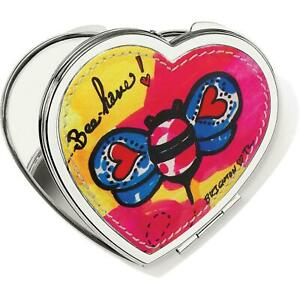 New ListingBrighton Bee Have Love Bee Heart Compact Mirror Nwt
