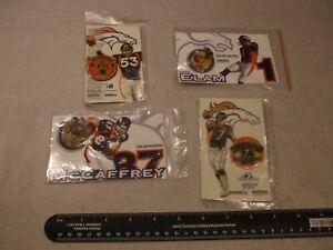 LOT OF 4 PIN'S Denver Broncos New 1999 Denver Post WOW LQQK JOHN ELWAY & MORE