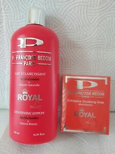 Pr. Francoise Bedon Royal Lightening Body Lotion and Soap