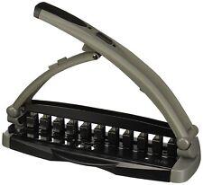 NEW Staples Arc System Desktop 11-Hole Punch Model 40836 8-Sheet Capacity