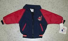 Cleveland Indians youth sz. 7 winter Jacket Coat  MINT w/ Tag NEW zip up KIDS 7T