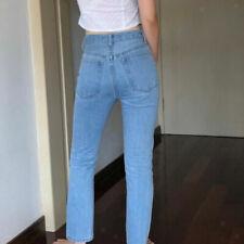 Jeans da donna blu senza marca