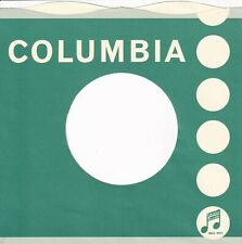 COLUMBIA  Company Reproduction Record Sleeves - wavy top,  (pack of 10]