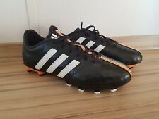 ADIDAS 11NOVA FG B44567 Men's Black/Orange/White Football Boots UK 5 NEW IN BOX