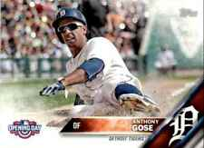 2016 Topps Opening Day Anthony Gose #OD-160 Detroit Tigers