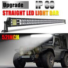 "52"" 3000w LED Light Bar High Intensity Spot Lamp LAND ROVER DISCOVERY SPORT 4X4"