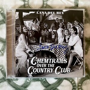 Lana Del Rey - Chemtrails Over The Country Club CD [SIGNED]