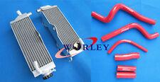 For HONDA CR500R CR500 1990-2001 91 92 94 95 96 97 98 Aluminum Radiator & hose